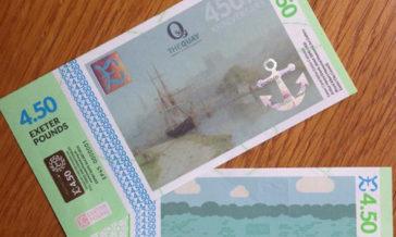Die 4 1/2-Pfund Note – magische Lokalwährungen